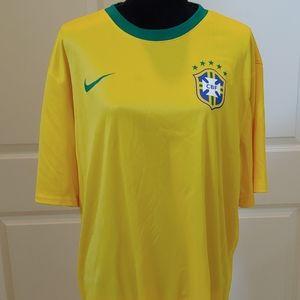 BRAZIL 2014 World Cup Home Jersey